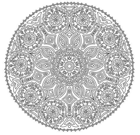mandala coloring books best 25 mandalas to color ideas only on