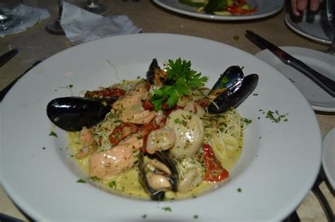 pates au fruits de mer great food picture of joseph s by the sea restaurant orchard tripadvisor