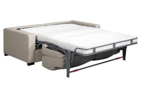 canapé lit vrai matelas canape lit matelas mousse