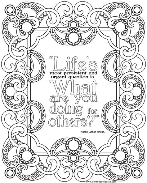 quotes coloring pages quotesgram