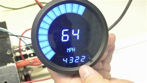 Led Digital Speedometer Tachometer Combo