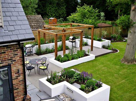garden bench ideas Landscape Contemporary with