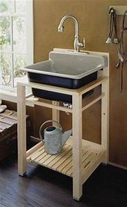 Free Standing Utility Shelf Plans - WoodWorking Projects