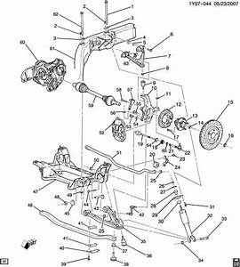 98-04 Corvette C5 Driver Rear Suspension Assembly
