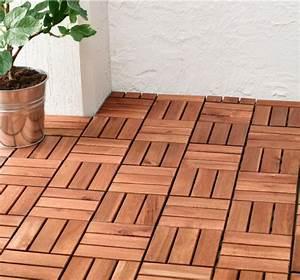 Peinture Balcon Sol : caillebotis bois 50 exemples pour votre espace ext rieur ~ Premium-room.com Idées de Décoration