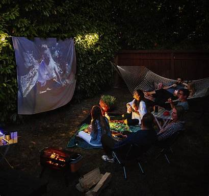 Grill Netflix Night Backyard Ultimate Backcountry Summer