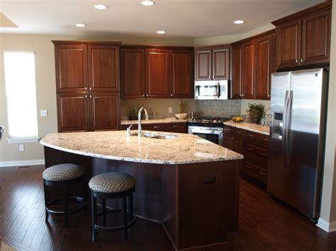 cherry briarwood  black glaze cabinetry polished