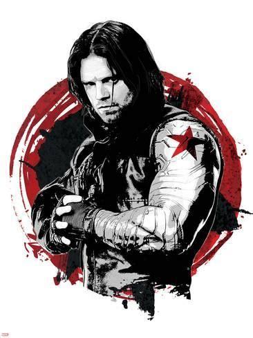 Civil War Captain America Winter Soldier Bucky