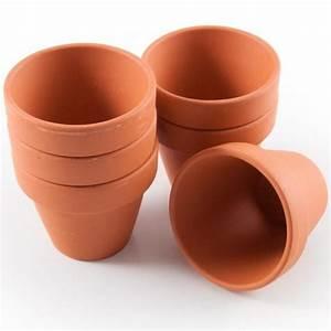Pot De Fleur En Terre Cuite : mini pots de culture en terre cuite pour plantation 0 ~ Premium-room.com Idées de Décoration