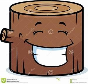 Wood Log Smiling Royalty Free Stock Image - Image: 11988396