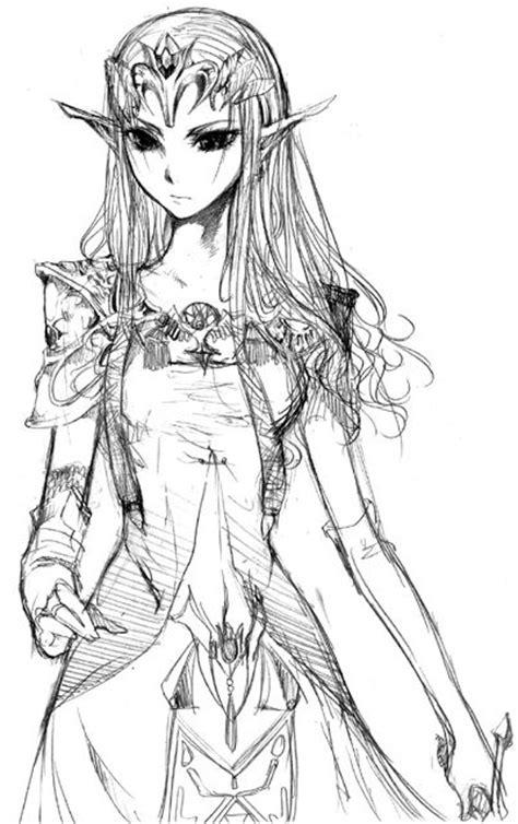 drawn sword zelda pencil   color drawn sword zelda