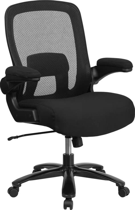 Hercules 500 Lb Office Chair by Hercules Series Big 500 Lb Black Mesh