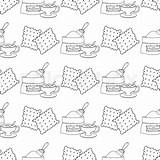 Crackers Drawing Paintingvalley sketch template
