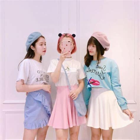 น่ารักสุด แมทช์ชุดเน้น สี Pastel ลงตัวแบบสาวเกาหลี ใส่ ...