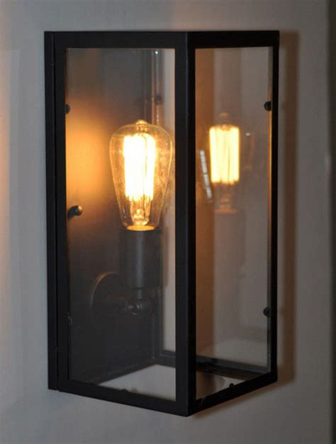 loft light box wall sconce contemporary wall sconces loft industrial box wall sconce contemporary wall sconces new york by lighting