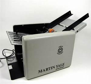 martin yale autofolder model 1501 cv 7 auto paper folder With manual letter folder
