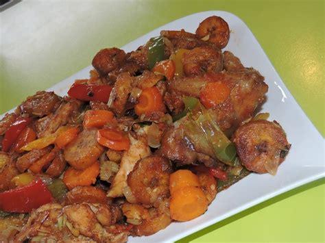 recette de cuisine camerounaise en cuisine avec coco poulet dg à la camerounaise chapchapmag
