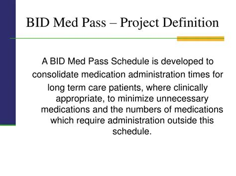 define bide ppt bid med pass project michael d crowley md faafp