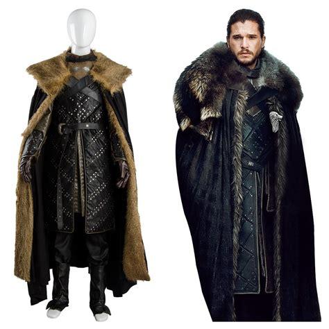 Jon Snow Got 8 Game Of Thrones Season 8 Outfit Cosplay