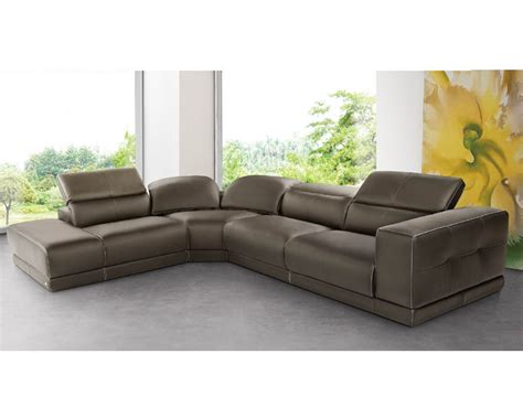 italian leather sofa set italian sectional sofa set in brown leather 33ls141