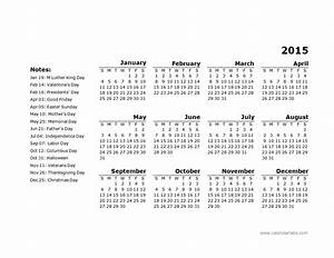 2015 yearly calendar template 11 free printable templates With 2015 yearly calendar template in landscape format