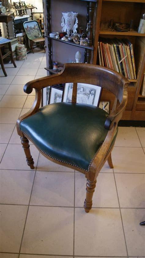 fauteuil de bureau ancien ancien fauteuil de bureau les brocanteurs