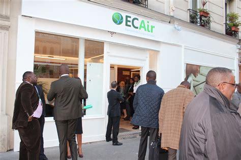 jean louis osso lancement officiel de l agence ecair congo 224 paris adiac