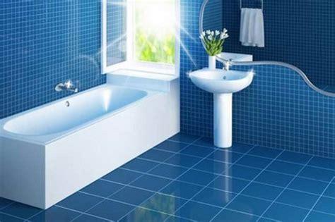 Blue Tile Bathroom Floor by 37 Blue Bathroom Floor Tiles Ideas And Pictures