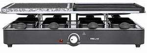 Appareil Raclette Pierrade : proline racpc13 appareil raclette combin 45 ~ Premium-room.com Idées de Décoration