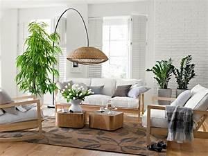 Dekorative Pflanzen Fürs Wohnzimmer : inneneinrichtung im umweltstil 28 trendige einrichtungsbeispiele ~ Eleganceandgraceweddings.com Haus und Dekorationen