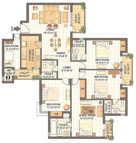 condo floor plans ideas  pinterest  bedroom