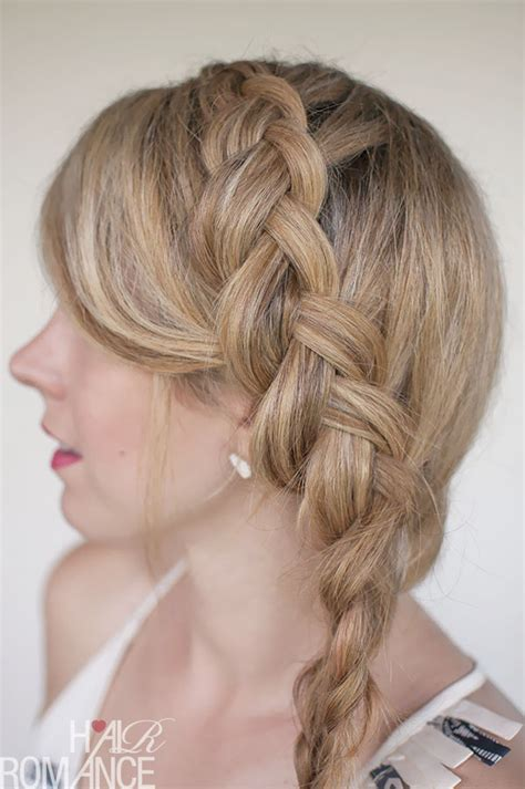11 pretty double dutch diagonal braided designs for girls