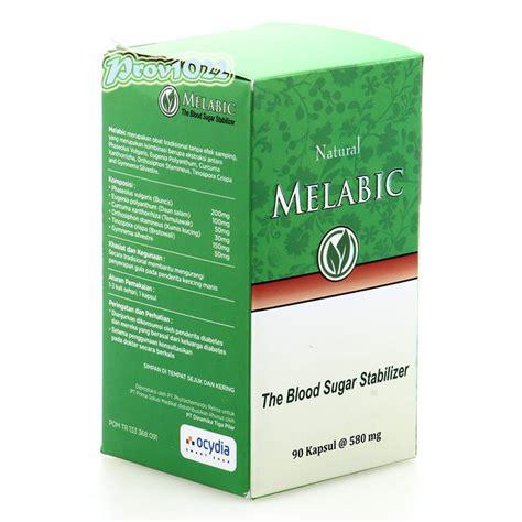 melabic 90 kapsul obat herbal diabetes menstabilkan kadar