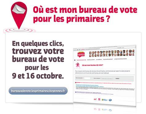 bureau de vote mode d emploi des primaires trouver bureau de vote