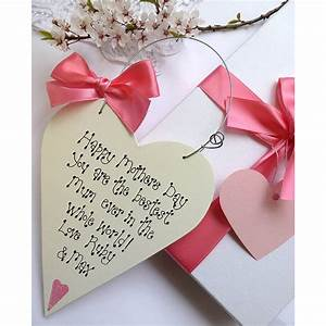 personalised mothers day gift box by country heart ...