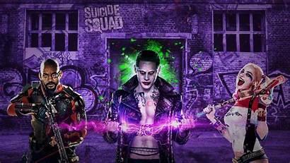 Suicide Squad Joker Harley Quinn Wallpapers 4k