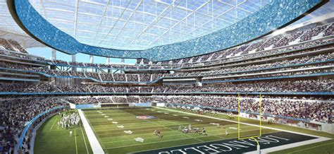 chargers owner hails la stadium project  stadium business