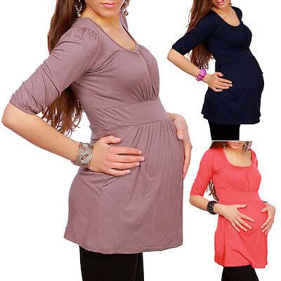 maternity wear clothing top tunic pregnancy size