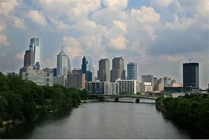 Philadelphia Skyline Layover Bass Mutant Rivers Changing