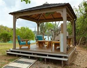 Pavillon Im Garten : garten pergola eine idylle im freien ~ Michelbontemps.com Haus und Dekorationen