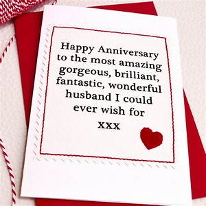 husband boyfriend handmade anniversary card by jenny With images of wedding anniversary cards for husband