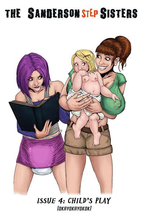 the sanderson step sisters 4 3d comics 8muses