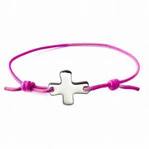 Bracelet Avec Elastique : bracelet lastique rose fluo avec croix comptoir religieux ~ Melissatoandfro.com Idées de Décoration