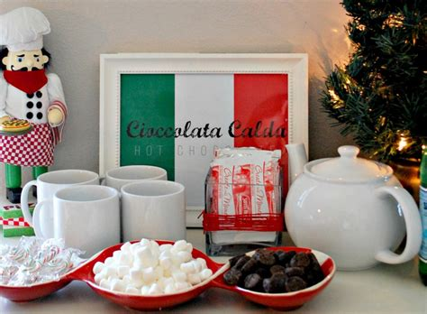 italian flags table decorations decoration  home