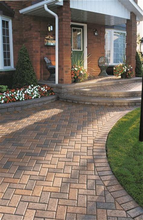 unilock hollandstone driveway entrance hollandstone paver photos