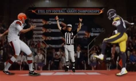 There Is Already A Karate Kid Antonio Brown Crane Kick Mashup