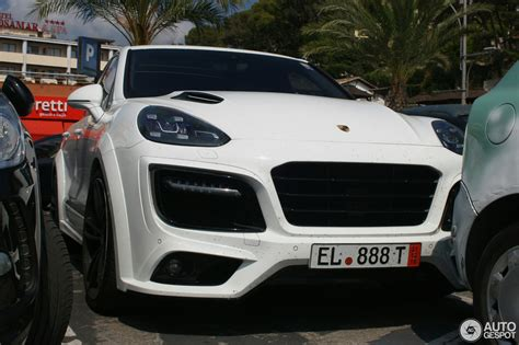Porsche Cayenne Techart Magnum 2018 27 September 2018