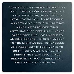 Jace From City Of Glass Quotes. QuotesGram