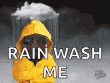 funny rain gifs tenor