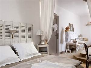 decoration chambre campagne chic With deco campagne chic chambre